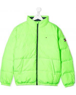 Стеганое пальто Tommy Hilfiger Junior