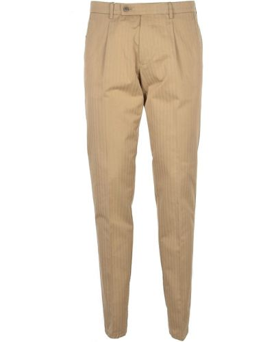 Beżowe spodnie Berwich