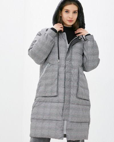 Утепленная серая куртка Silvian Heach