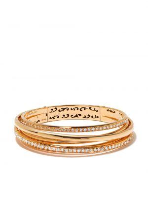 Золотой браслет золотой с бриллиантом De Grisogono