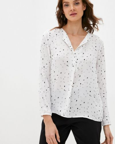 С рукавами белая блузка Bruebeck