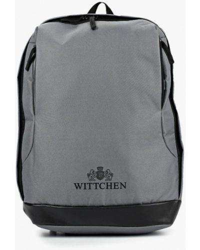Серый рюкзак городской Wittchen