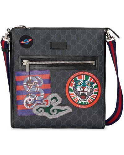 Нейлоновая сумка - черная Gucci