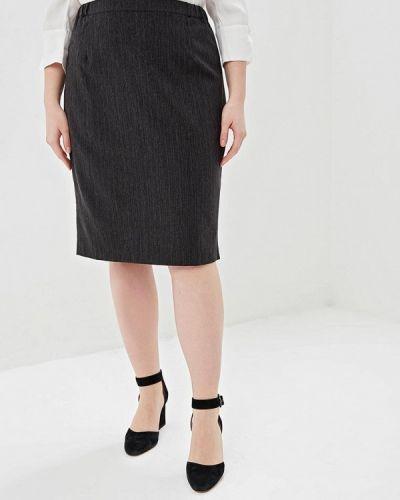 Юбка - серая авантюра Plus Size Fashion
