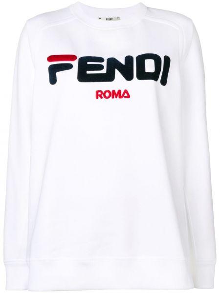 Bluza z haftem Fendi