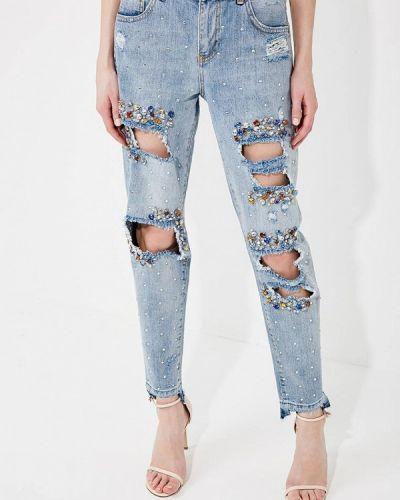 Голубые джинсы бойфренды Liu Jo Jeans