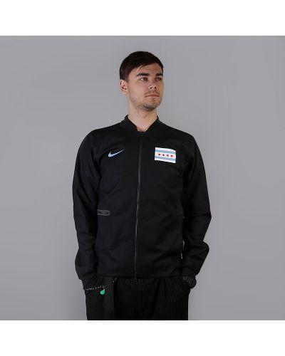 Куртка черная хлопковая Nike