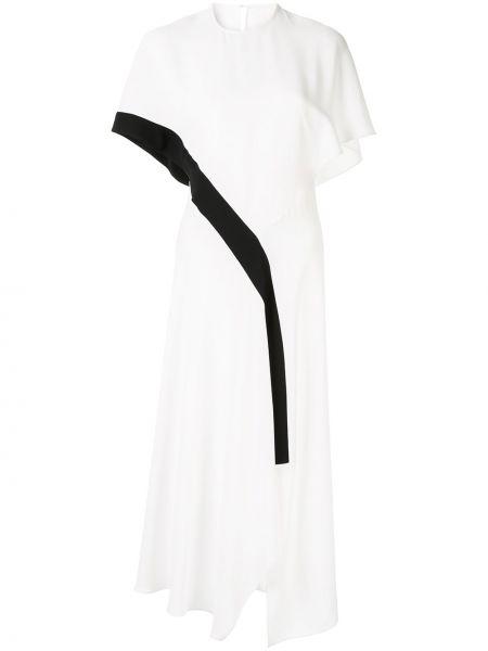 Приталенное асимметричное платье миди Bianca Spender