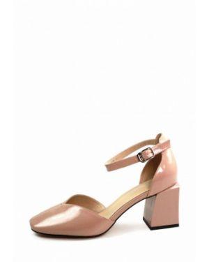 Кожаные туфли - розовые Visttaly