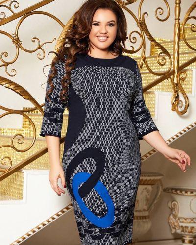 Платье - синее Aldem