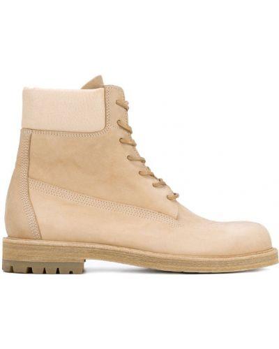 Бежевые ботинки Hender Scheme