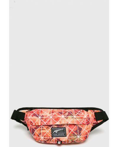 Оранжевая поясная сумка Puma