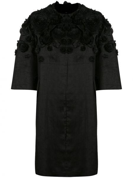 Укороченное пальто пальто с карманами Carolina Herrera