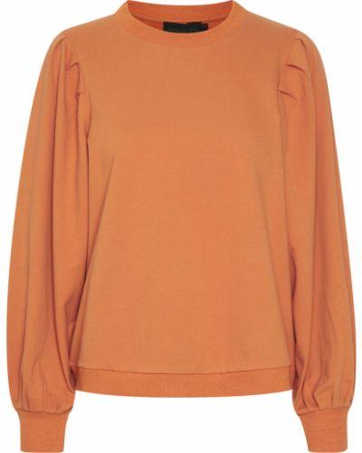 Bluza dresowa - pomarańczowa Karen By Simonsen