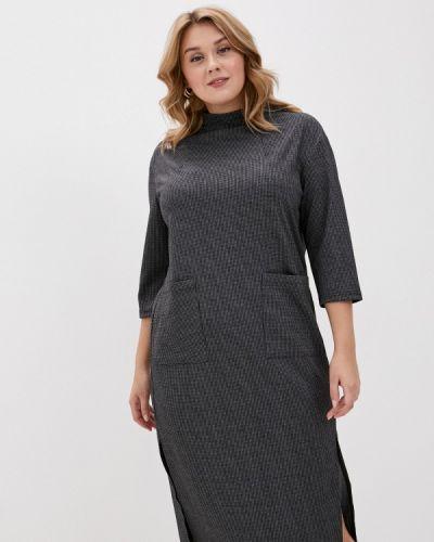 Повседневное серое платье Svesta