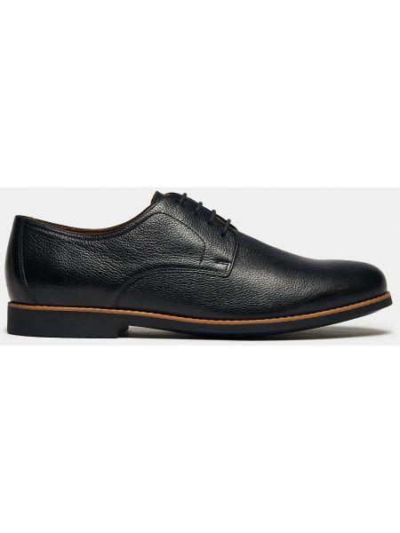 Текстильные мягкие деловые черные туфли Ralf Ringer
