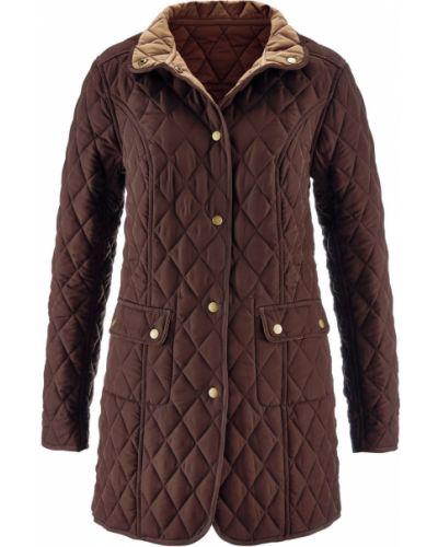 Стеганая куртка - бежевая Bonprix