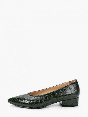 Зеленые турецкие туфли Hestrend