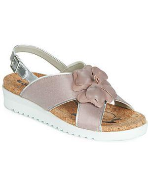 Różowe sandały Romika