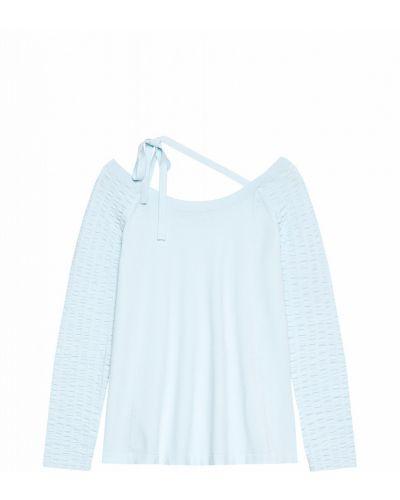 С рукавами свитер с круглым вырезом из вискозы Stefanel