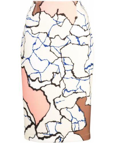 Юбка миди карандаш с завышенной талией Yigal Azrouel