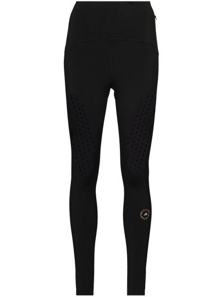 Модные облегающие черные леггинсы Adidas By Stella Mccartney