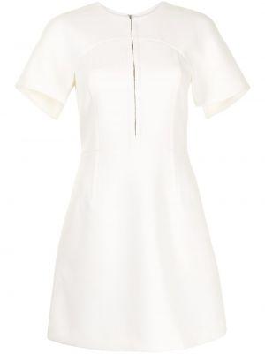 Белое платье мини на крючках Dion Lee