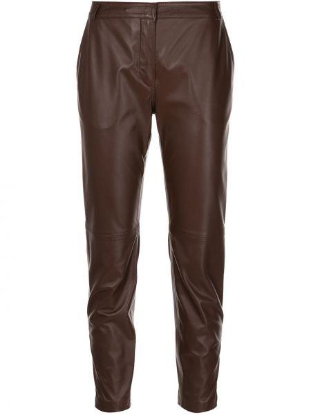 Укороченные брюки - коричневые Altuzarra