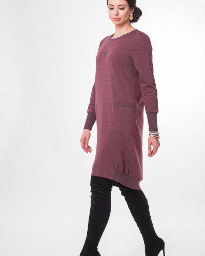 Платье розовое из вискозы Argent