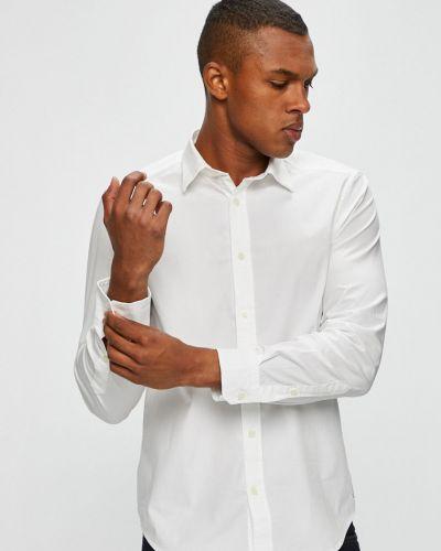 Рубашка с длинным рукавом однотонная хлопковая Diesel