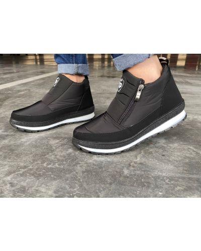 Теплые ботинки - черные Bromen