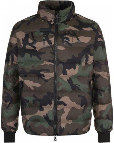 Куртка камуфляжная с воротником-стойкой Valentino
