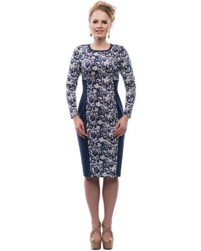 Облегающее платье трикотажное из вискозы Петербургский Швейный Дом