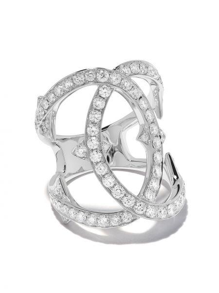 Серебряное кольцо с бриллиантом Loree Rodkin
