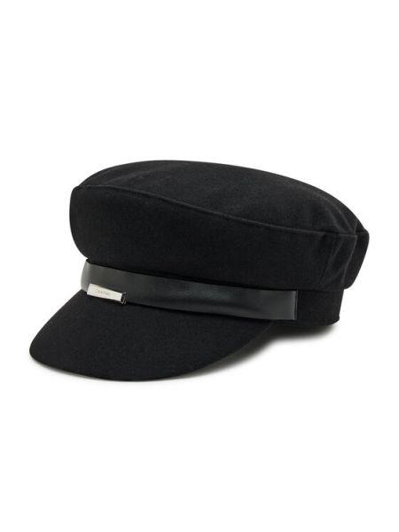 Czapka - czarna Calvin Klein