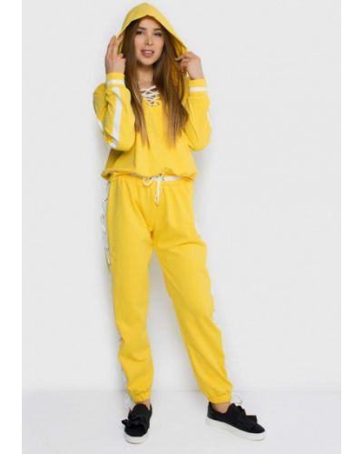 Спортивный костюм желтый Malaeva