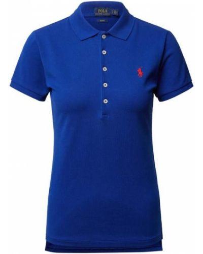 T-shirt bawełniana - niebieska Polo Ralph Lauren