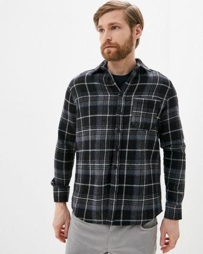 Серая рубашка с длинными рукавами Defacto