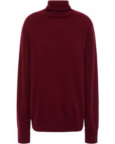 Prążkowany fioletowy z kaszmiru sweter Maison Margiela