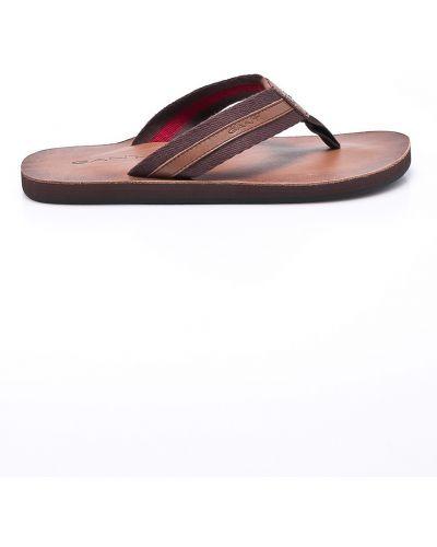 Коричневые сандалии Gant