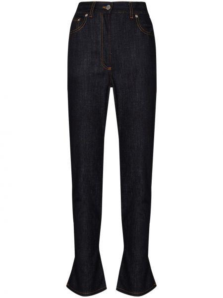 Расклешенные синие джинсы классические стрейч Jw Anderson