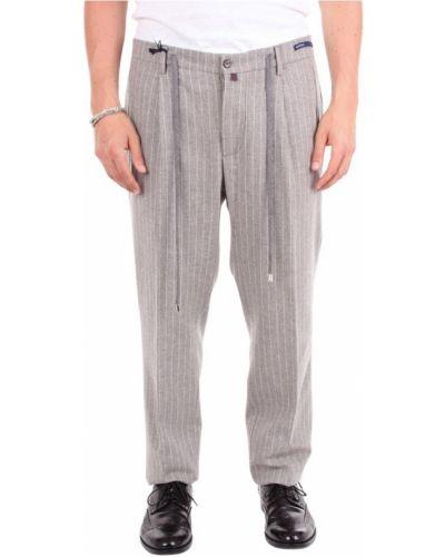 Spodnie w paski Baronio