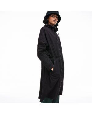 Куртка с капюшоном на резинке на молнии Lacoste