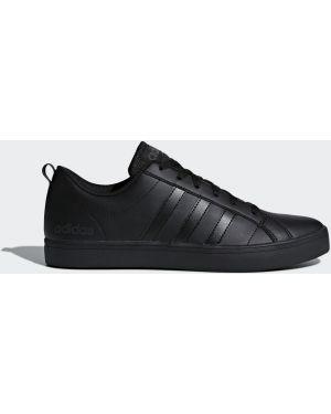 Скейтбордические повседневные черные кроссовки с перфорацией Adidas