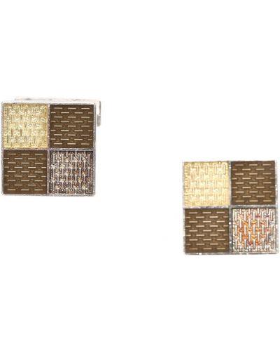 Spinki do mankietów srebrne vintage Louis Vuitton Vintage