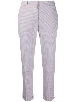 Укороченные брюки с карманами с воротником Piazza Sempione