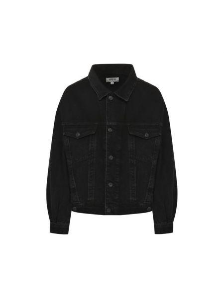 Хлопковая джинсовая куртка - серая Agolde