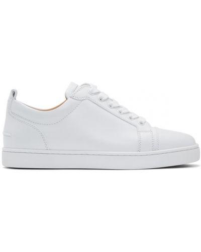 Кроссовки на каблуке на шнуровке Christian Louboutin