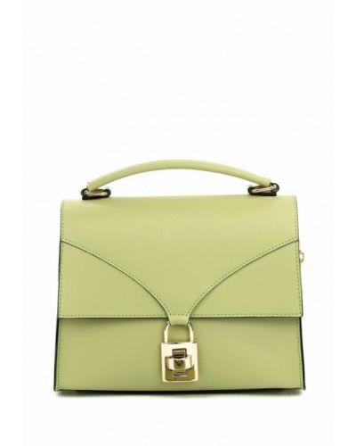 Зеленая кожаная сумка Vivat Accessories
