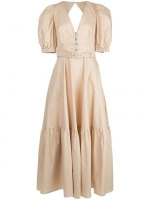 Платье мини с открытой спиной миди Nicholas